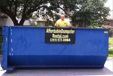 roll off dumpster rental clearwater st petersburg